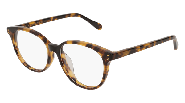 Stella McCartney - SC0109OA Light Havana Eyeglasses / Demo Lenses
