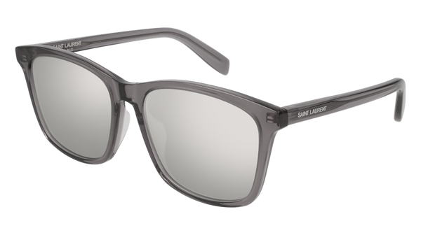 Saint Laurent - SL 205/K Grey Sunglasses / Silver Lenses