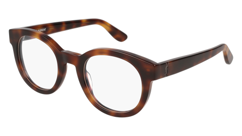 Saint Laurent - SL M14 48mm Havana Eyeglasses / Demo Lenses