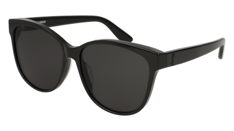 Saint Laurent - Classic SL 51 T Black Sunglasses / Grey Lenses