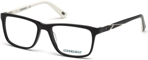 Skechers - SE3212 Shiny Black Eyeglasses / Demo Lenses