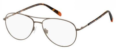 Fossil - Fos 7045 Matte Brown Eyeglasses / Demo Lenses