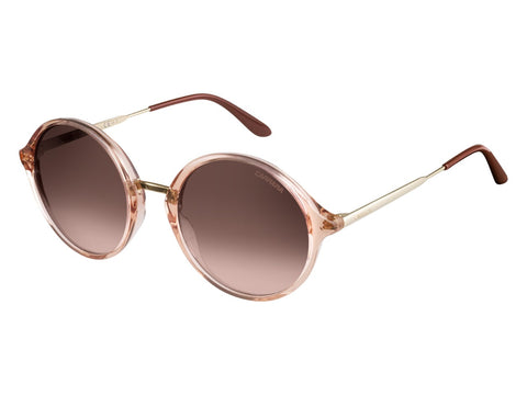 Carrera - 5031 Pink Gold Sunglasses / Brown Mirror Gold Lenses