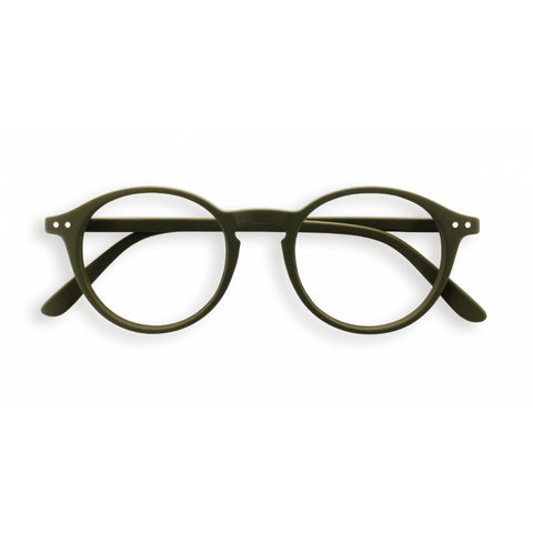 Izipizi - #D Khaki  Eyeglasses / Screen Blue Light Clear +2.00 Lenses