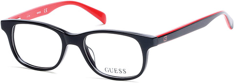 Guess - GU9163 Black Eyeglasses / Demo Lenses