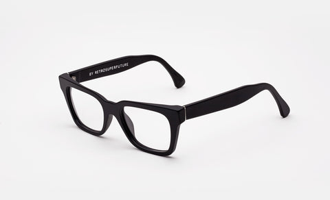 Super - America Black Matte Eyeglasses / Demo Lenses