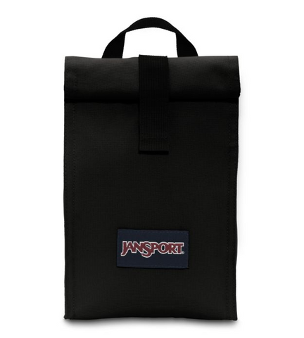 JanSport - Rolltop Black Lunch Bag