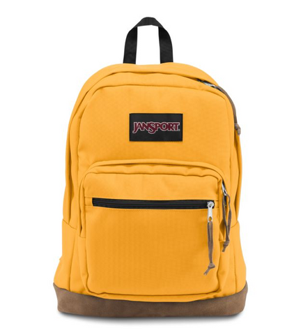 JanSport - Right Pack English Mustard Yellow Backpack