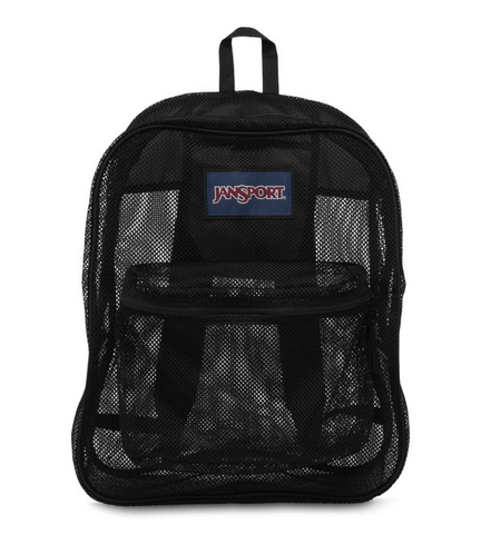 JanSport - Mesh Pack Black Backpack