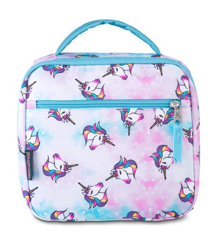 JanSport - Lunch Break Unicorn Clouds Lunch Bag