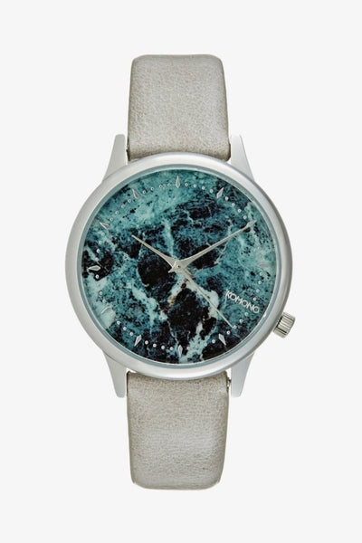 Komono - Estelle Grey Marble Watch