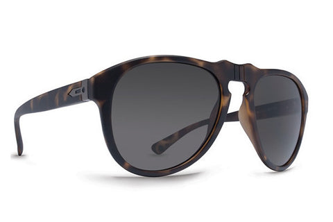 Dot Dash - Gentry Tortoise Satin TOR Sunglasses, Retro Grey Lenses