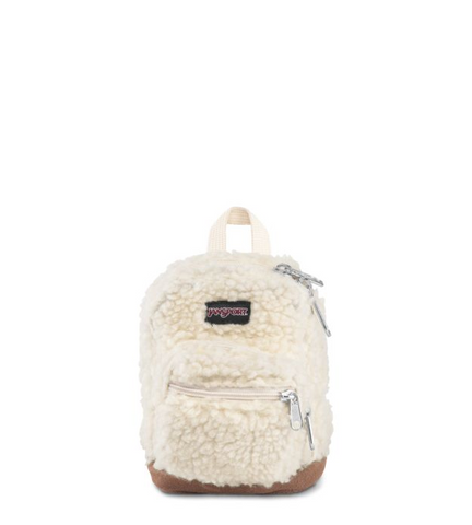 JanSport - Right Soft Tan Sherpa Pouch
