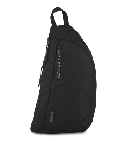 JanSport - City Sling Black Top Crossbody Bag