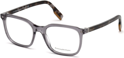 Ermenegildo Zegna - EZ5129 Grey Eyeglasses / Demo Lenses