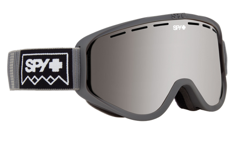 Spy - Woot Deep Winter Gray Snow Goggles / Bronze Silver Spectra + Persimmon Lenses