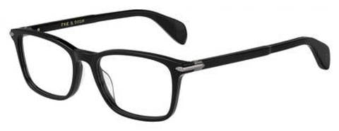Rag & Bone - Rnb 7016 Black Eyeglasses / Demo Lenses