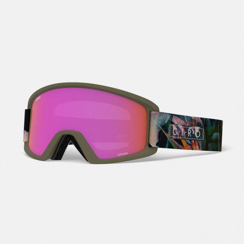Giro - Dylan Electric Petal Snow Goggles / Amber Pink + Yellow Lenses