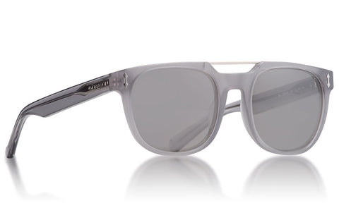 Dragon - Mix Matte Crystal Grey Sunglasses / Smoke Lenses