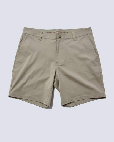 Rhone - 7in Commuter Khaki Shorts