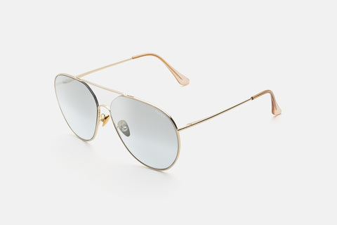 Super - Completo 60mm Gold Sunglasses / Silver Lenses