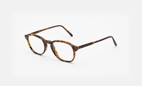 Super - Numero 02 46mm Havana Eyeglasses / Demo Lenses