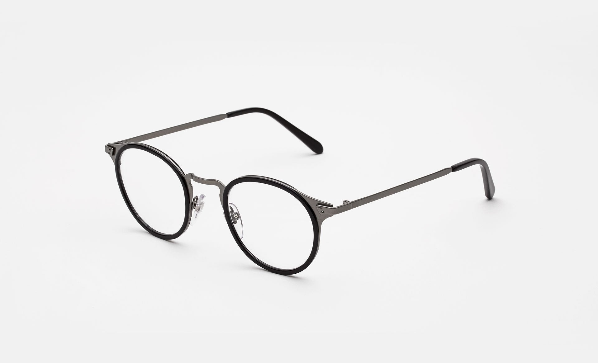 Super - Numero 20 46mm Black Eyeglasses / Demo Lenses