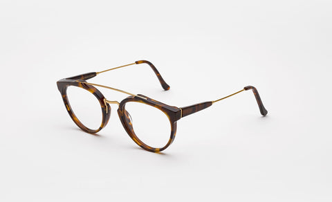 Super - Giaguaro Classic 51mm Havana Eyeglasses / Demo Lenses