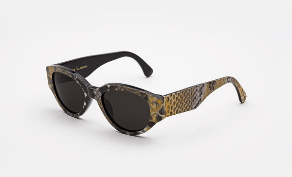 Super - Marques Almeida 53mm Yellow Sunglasses / Black Lenses