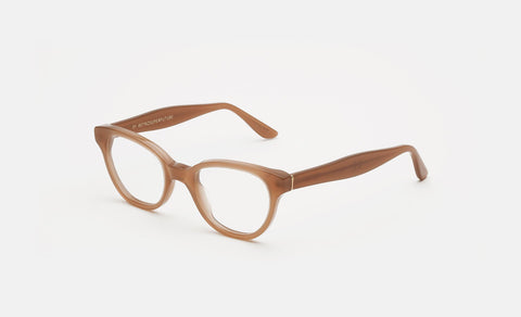 Super - Numero 13 46mm Beige Eyeglasses / Demo Lenses