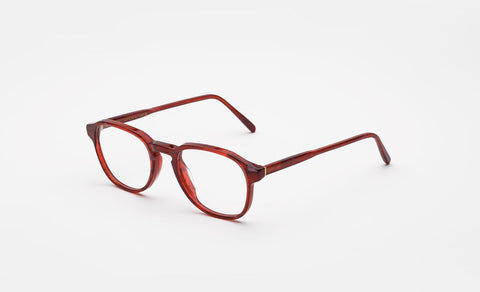 Super - Numero 02 50mm Red Eyeglasses / Demo Lenses