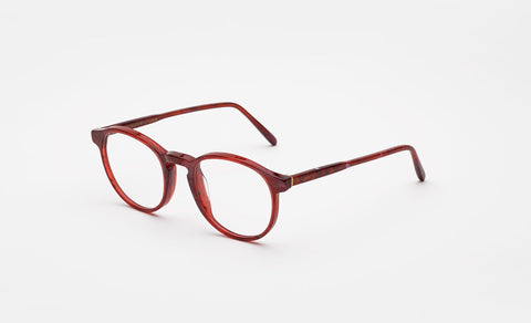Super - Numero 01 50mm Red Eyeglasses / Demo Lenses
