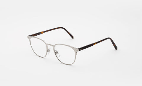 Super - Numero 37 49mm Silver Eyeglasses / Demo Lenses