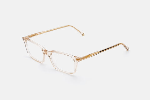 Super - Numero 53 52mm Gold Eyeglasses / Demo Lenses