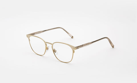 Super - Numero 37 49mm Gold Eyeglasses / Demo Lenses