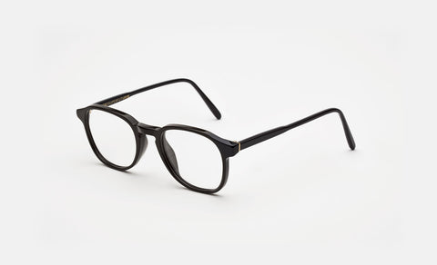 Super - Numero 02 50mm Black Eyeglasses / Demo Lenses