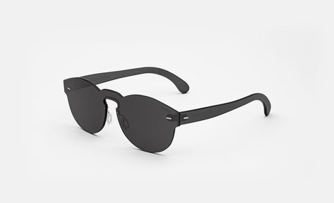 Super - Tuttolente Paloma Black Sunglasses / Black Lenses