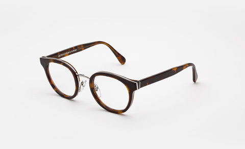 Super - Numero 22 Duo 48mm Havana Eyeglasses / Demo Lenses