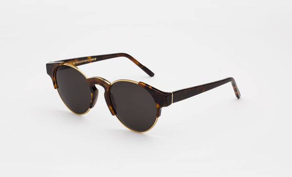 Super - Arca Classic 53mm Havana Sunglasses / Black Lenses