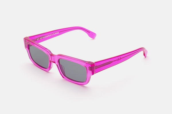 Super - Roma 54mm Pink Sunglasses / Grey Lenses