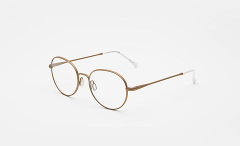 Super - Numero 16 53mm Gold Eyeglasses / Demo Lenses
