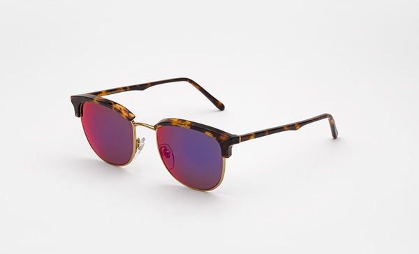 Super - Terrazzo 53mm Havana Sunglasses / Multicolor Lenses