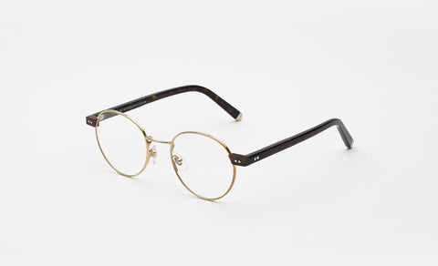 Super - Numero 36 48mm Gold Eyeglasses / Demo Lenses