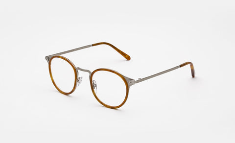 Super - Numero 20 46mm Brown Eyeglasses / Demo Lenses