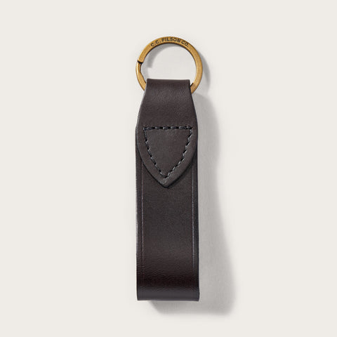 Filson - Bridle Brown Leather Keychain