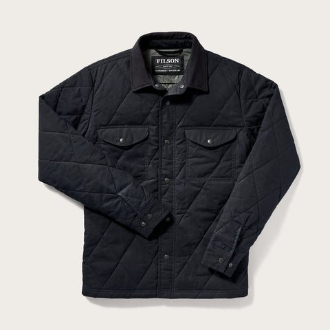 Filson - Hyder Quilted Faded Navy Jac-Shirt