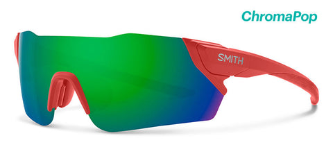 fe1867449b7 Smith - Attack Matte Red Rock Sunglasses   ChromaPop Green Mirror +  ChromaPop Contrast Rose Flash