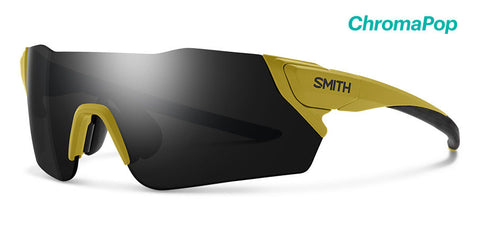 Smith - Attack Matte Mystic Green Sunglasses / Chromapop Black Lenses