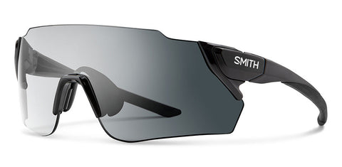 Smith - Attack Max 125mm Black Sunglasses / Photochromic Clear Gray Gradient + ChromaPop Contrast Rose Lenses