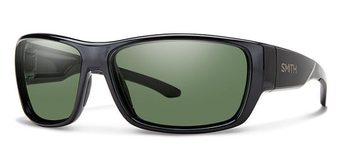 Smith - Forge 64mm Black Sunglasses / Carbonic Gray Green Lenses